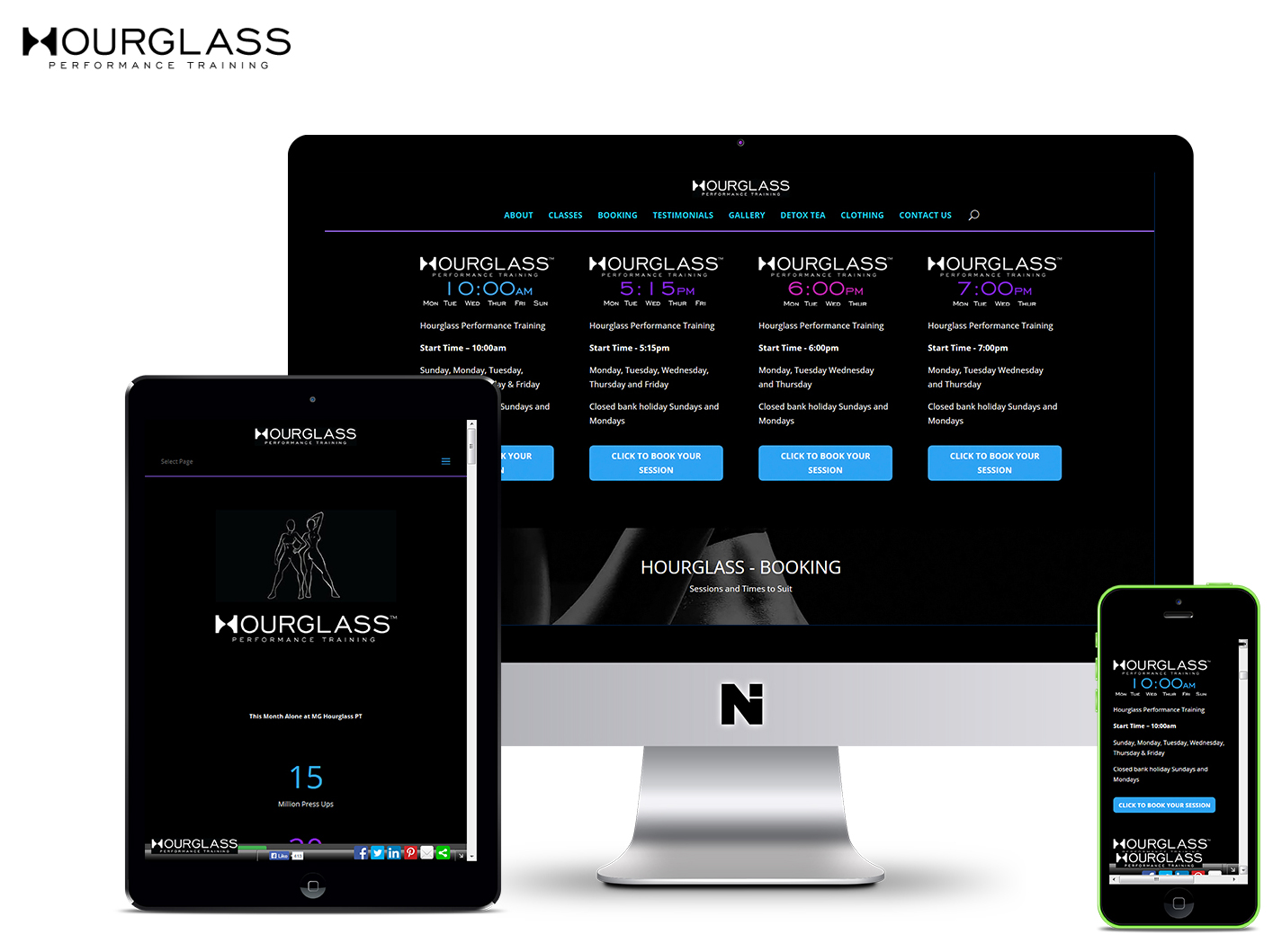 Hourglass Gym